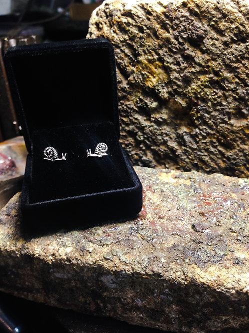 New Jewellery - Snail Studs