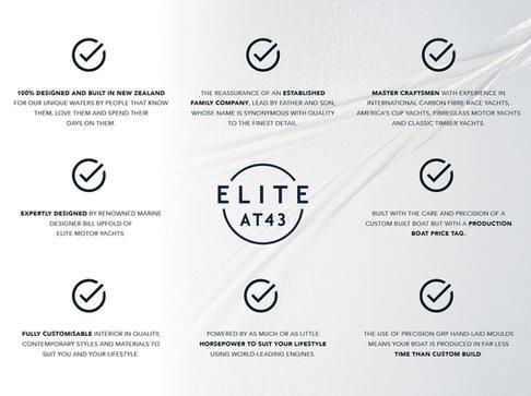 Elite AT43 bullet points