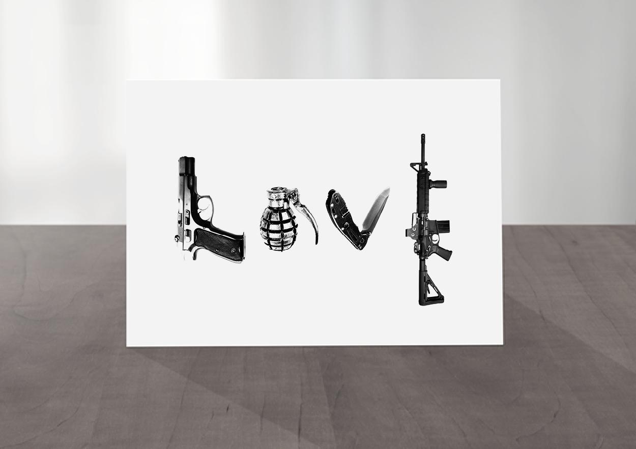Love War Card