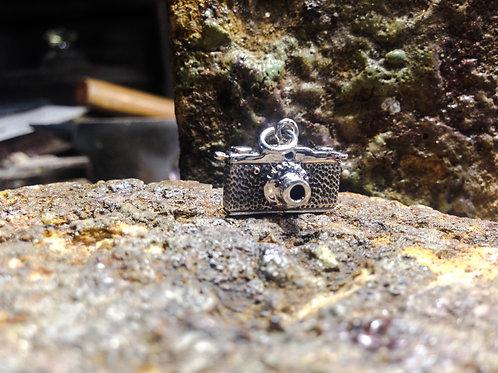 Cyborg - Small Film Camera Pendant/Charm