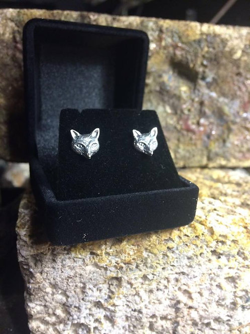 New Jewellery - Fox Face Studs