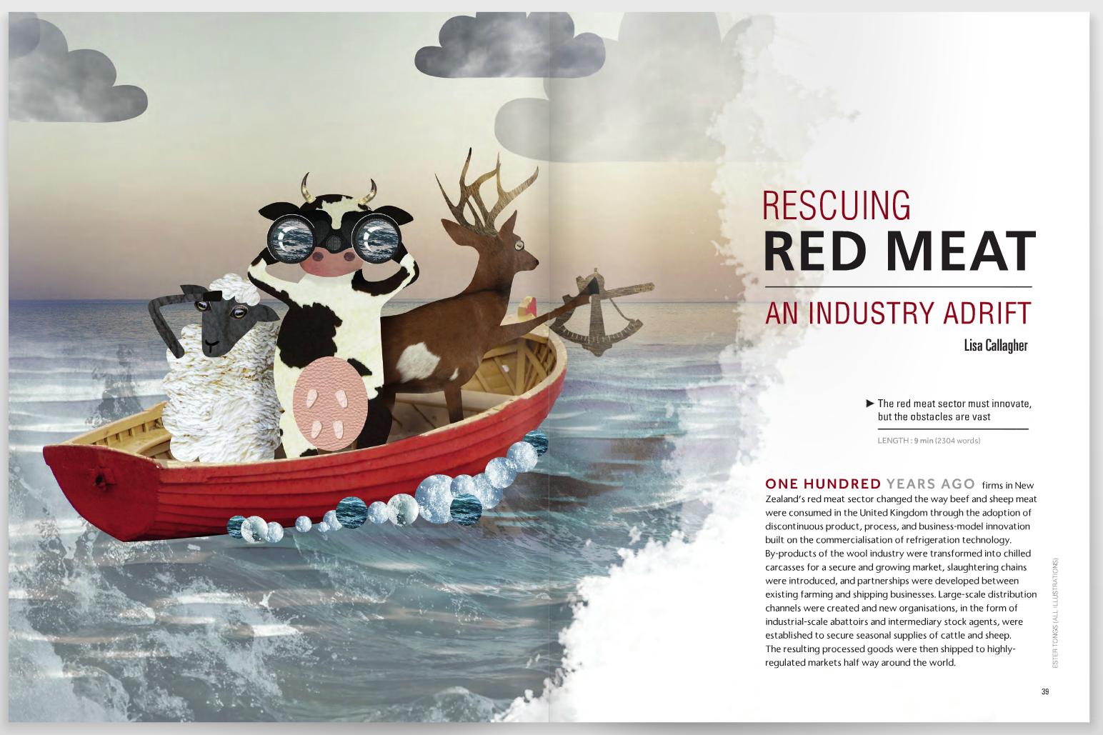 Editorial Illustration UABR magazine
