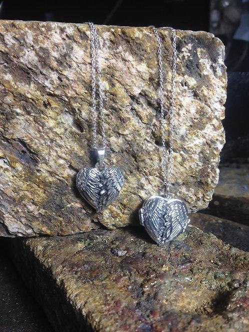 New Jewellery - Winged Heart Locket