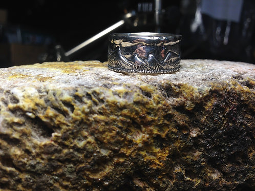 Cyborg - Mountain Range Ring