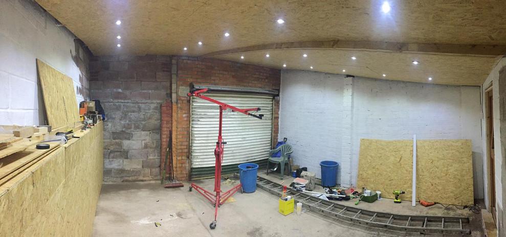 Kickstart Kickboxing Cardiff gym build