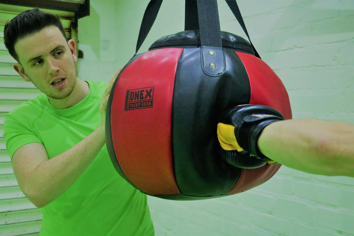 Kickstart Kickboxing Cardiff bag work
