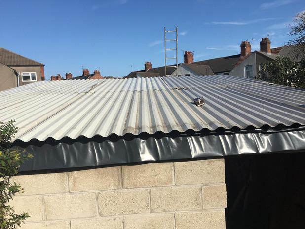 Kickstart Kickboxing Cardiff gym roof