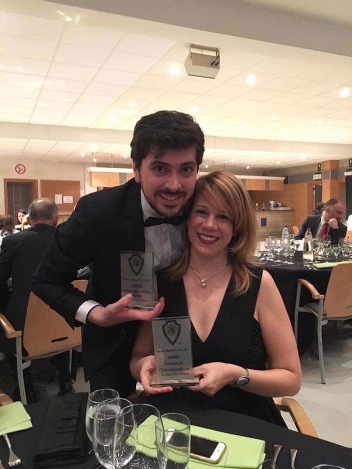 Laurence Van Looy - Award de l'Internati