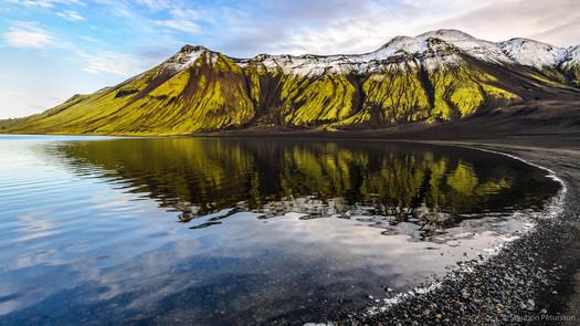 Langisjor lake, South Iceland