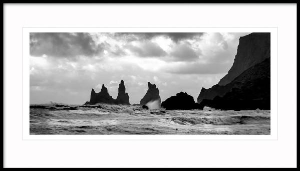 Reynisdrangar Rock Stack, South Iceland