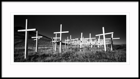 A Cross for each Motoraccident Fatality, South Iceland
