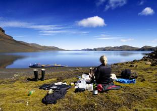 Langisjor lake, Southeast Iceland
