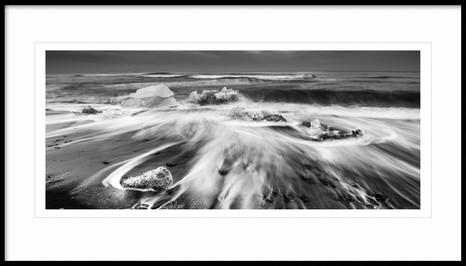 Diamond Beach, Jökulsárlón, Southeast Iceland
