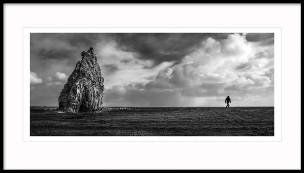 Arnardrangur Rock Stack, South Iceland
