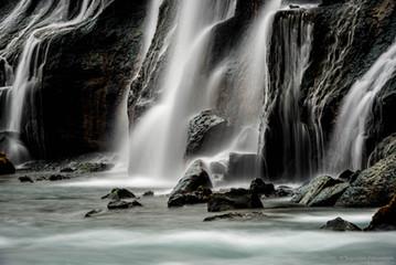 Hraunfoss waterfall, West Iceland