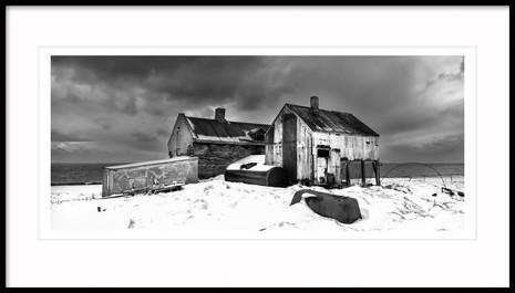 Abandoned farm, Westfjords, Iceland