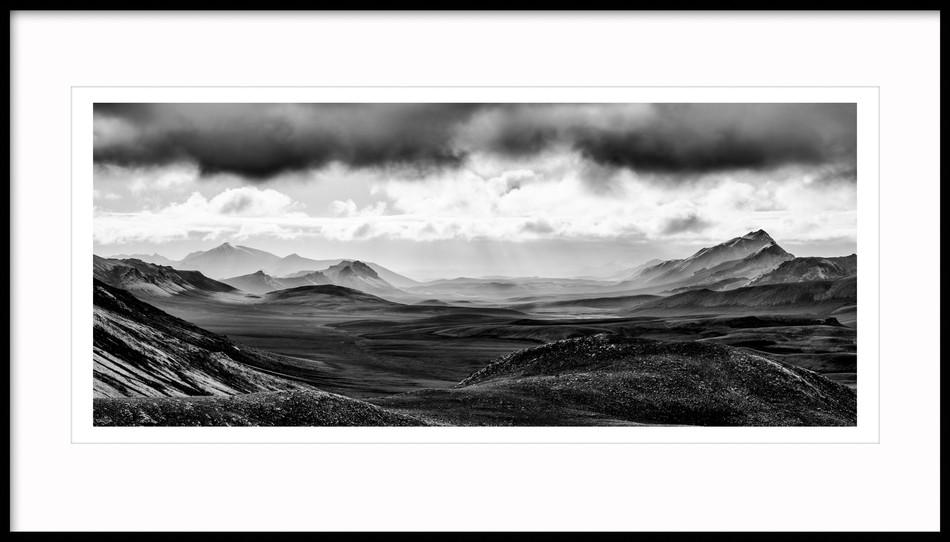 Mt. Graenifjallgarður, South Highlands, Iceland