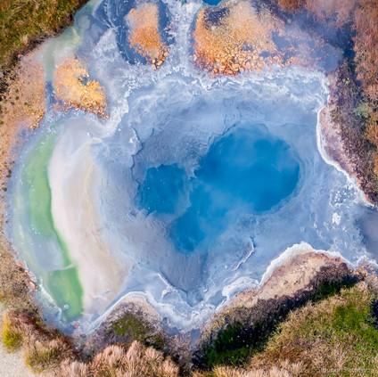 Hot spring at Hveravellir, Central Highlands, Iceland
