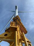 Turbine from below - taken by Noel - (C)