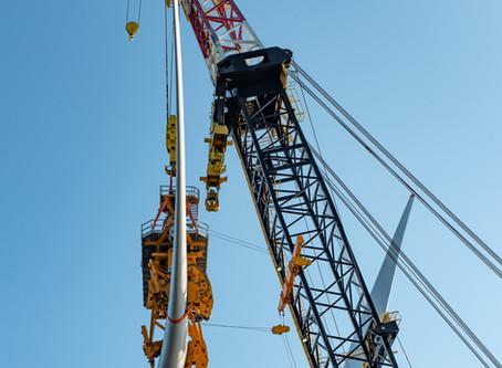 Offshore construction complete