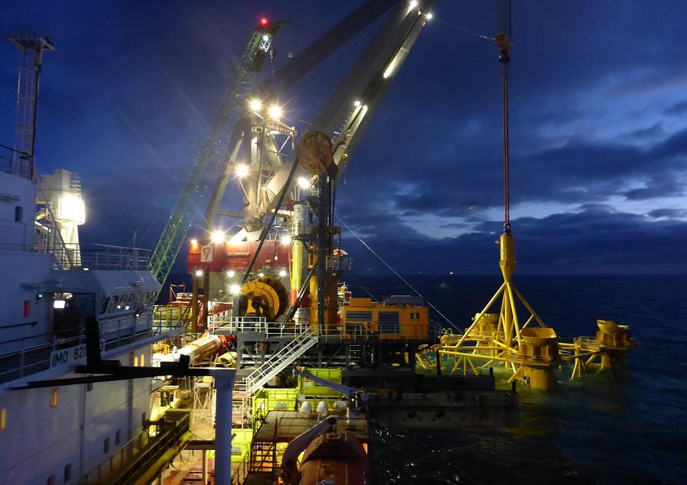 Piling operations underway 24/7