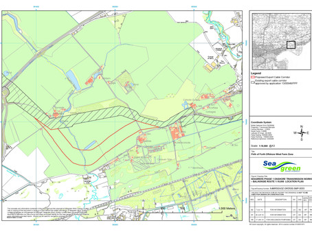 Onshore Proposal of Application Notice submitted.