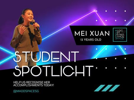 Student Spotlight - Ho Mei Xuan
