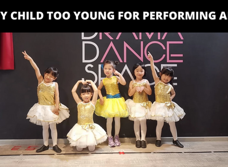 Is my child too young for performing arts?