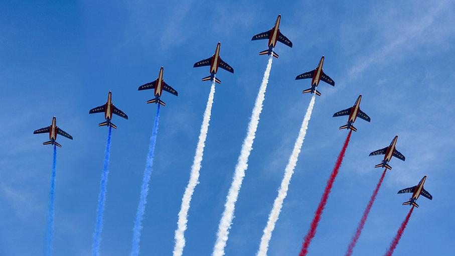 Aviones del cuatro de julio