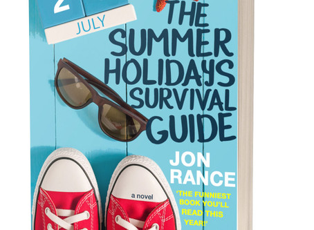 The Summer Holidays Survival Guide Publication day!