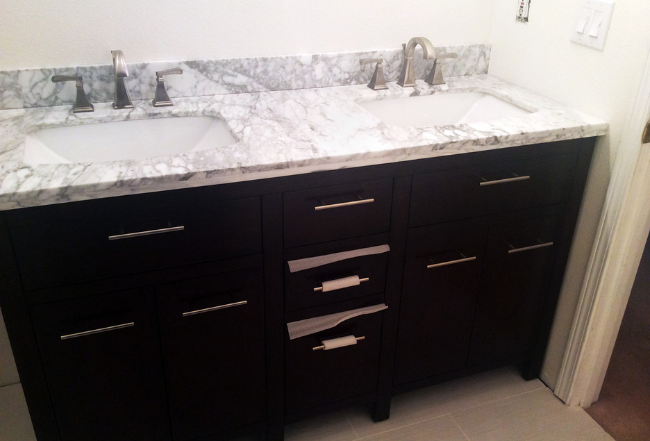 Small Bathroom Remodel AFTER