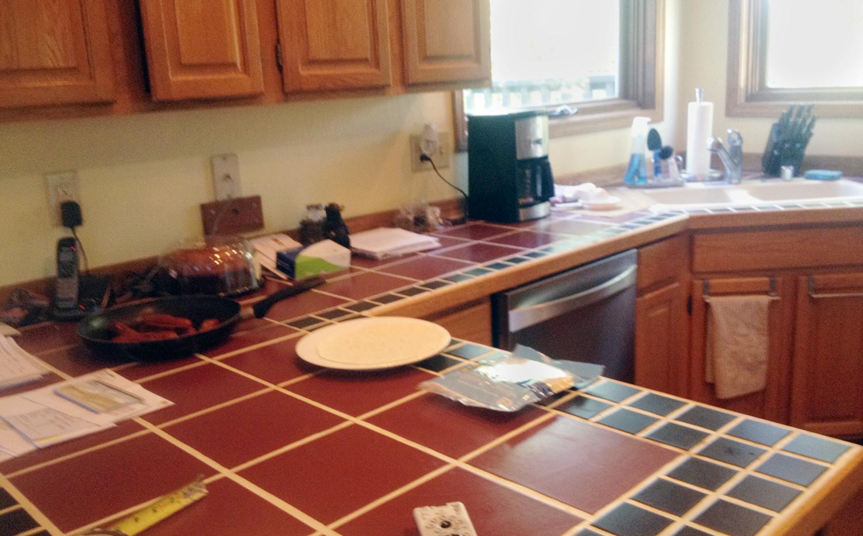 Hillside Kitchen Remodel BEFORE