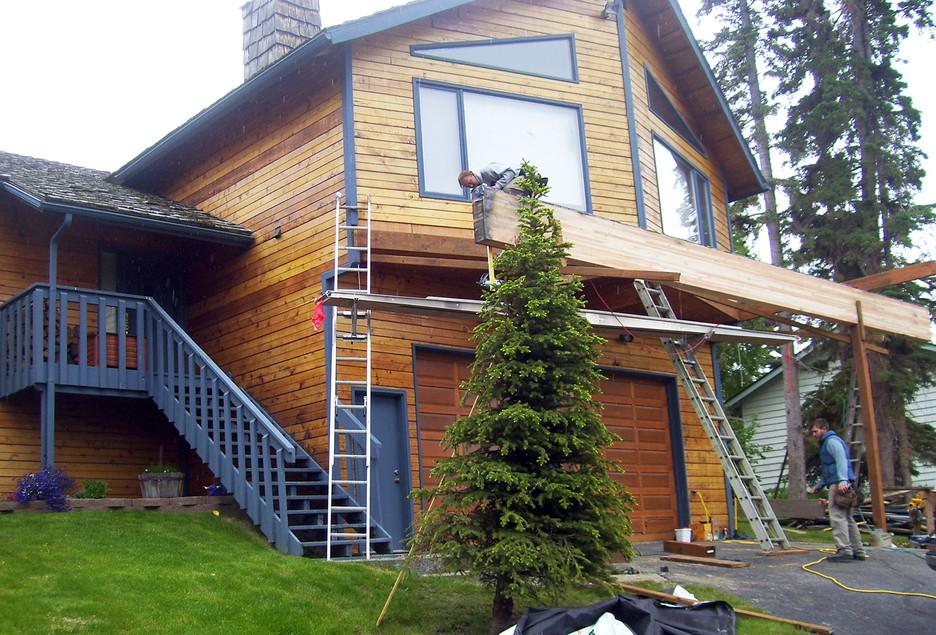 Deck Renovation BEFORE