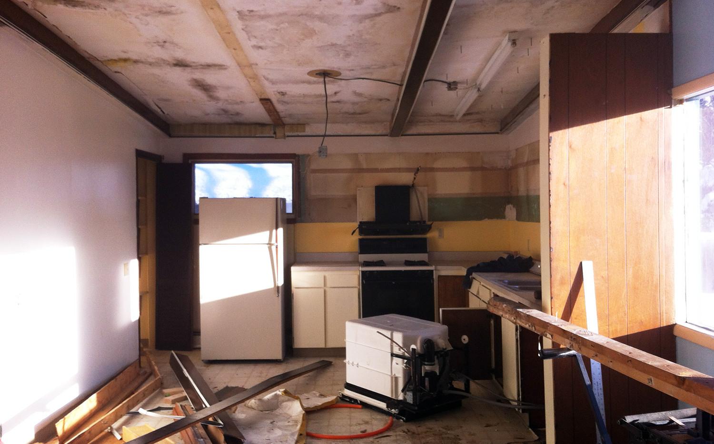 Hillside Kitchen Remodel PROCESS