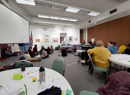 Finding connection among groups at Prevention Gathering in Kenai, Alaska
