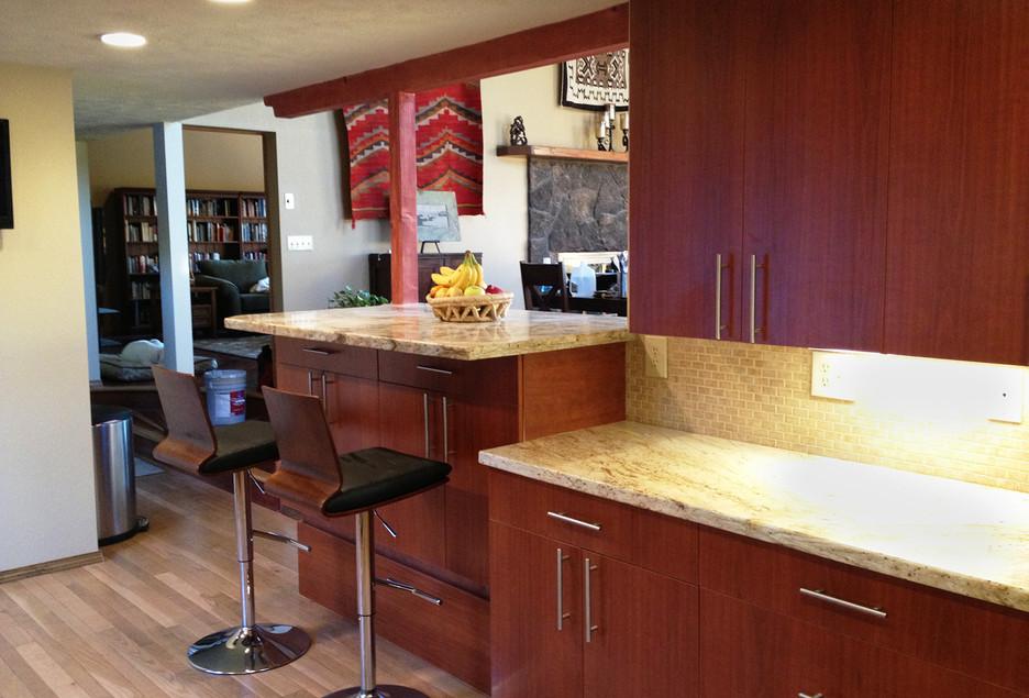 Hillside Kitchen Remodel AFTER