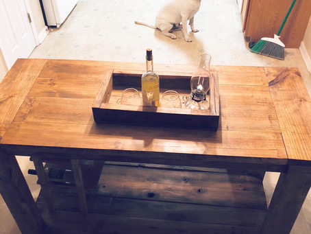 I built my family a dining room table