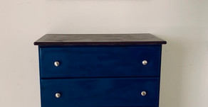 "TMAN's ""Blue"" Chest of Drawers"