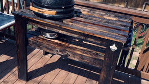 Rustic Grill Table and Plans
