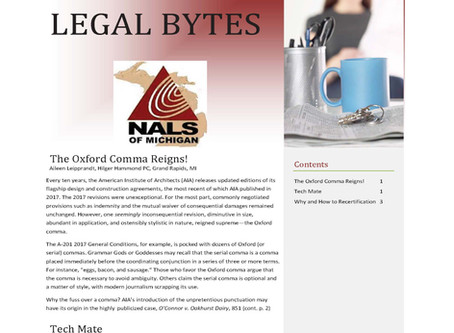 NALS of Michigan Legal Bytes September 2020