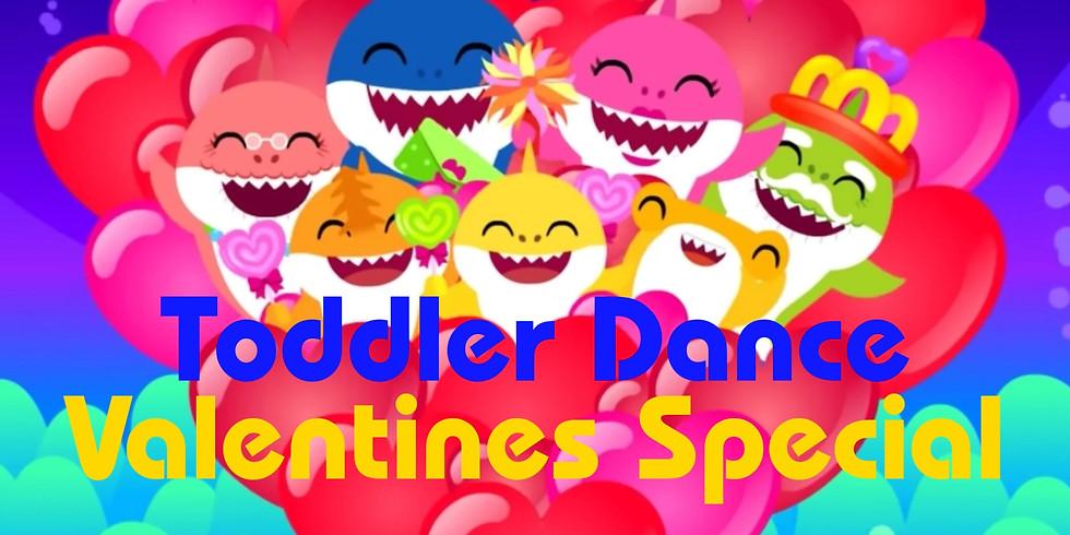 Valentines Toddler dance Fri 14th Feb