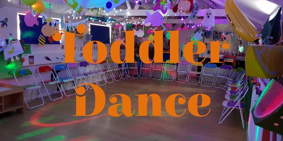 Toddler dance Sunday 19th Jan