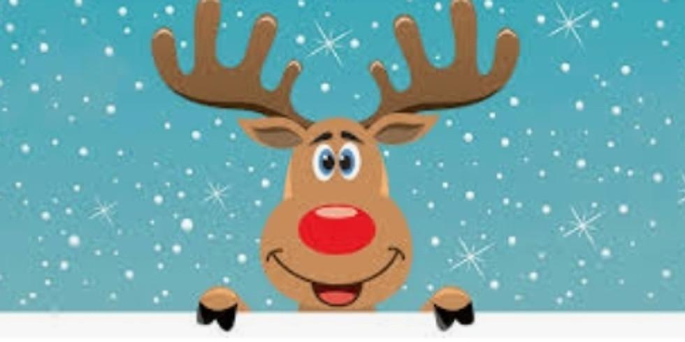 Reindeer Painting 18th Dec