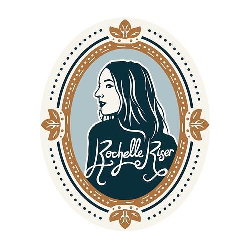 Rochelle Riser Cameo Sticker