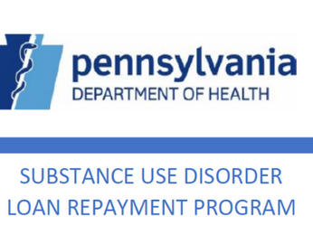 Government Relations News: Loan Repayment Program from the Department of Drug and Alcohol Programs