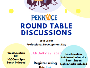 Professional Development Round Table Discussions