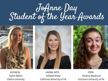 Congratulations to the 2020 SOTY Award Recipients