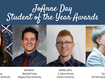 2018-19 PennACE Joanne Day Student of the Year (SOTY) Award Recipients