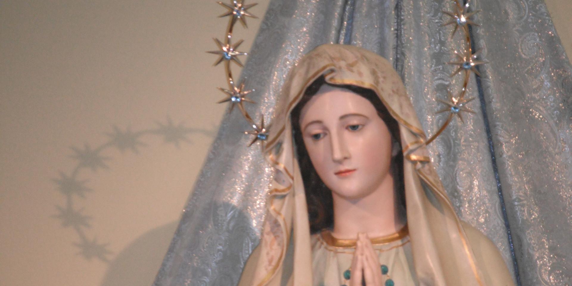 staua madonna Basilica di Mrdjugorje