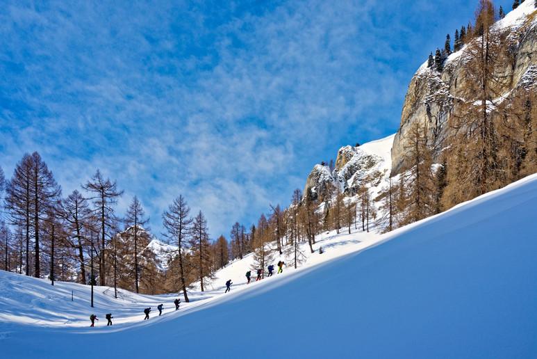Sneeuwwandelen Oostenrijk